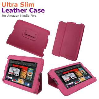 Slim Leather Case Cover for  Kindle Fire 7 Inch Tablet