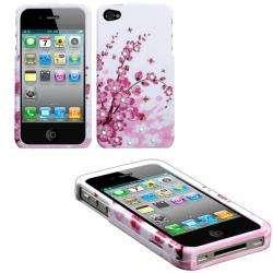 Premium Apple iPhone 4/ 4S Spring Flowers Rhinestone Case