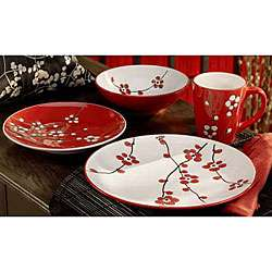 American Atelier Cherry Blossom 16 piece Dining Set