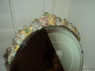 VINTAGE English French BARBOLA Dresser MIRROR 13 ins.