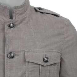 Calvin Klein Jeans Mens Cord Military Blazer  Overstock