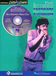 Paul Butterfield Teaches Blues Harmonica Master Class (Mixed media