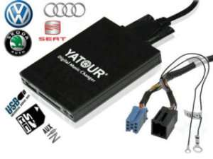 Digital CD changer For ISO 8 Pin VW Audi Skoda Seat