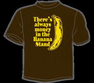 BANANA STAND T Shirt MENS funny arrested development