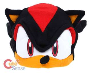 Sonic Shadow Plush Hat / Cosplay Beanie / Costumes Cap  GE Licensed