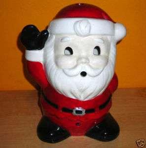 Christmas SANTA TEA CANDLE Holder Lantern Decoration