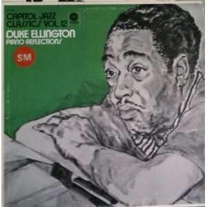 capitol jazz classics vol. 12  piano reflections LP DUKE