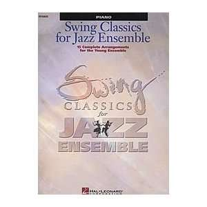 Swing Classics for Jazz Ensemble   Piano Musical