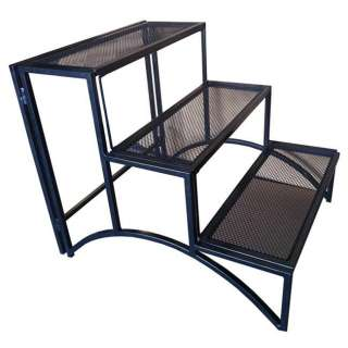 Folding Rectangle Three layer Plant Stand