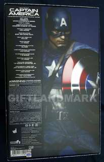 12 inches Hot Toys Captain America The First Avenger Marvel Action