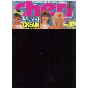 Cheri Magazine January 1990 Nina Hartley Cheri Books