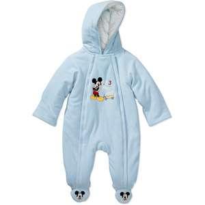 Disney   Newborn Boys Mickey Mouse Stroller Bodysuit Baby Clothing