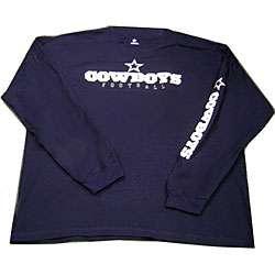 Dallas Cowboy Navy Blue Long sleeve T shirt