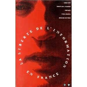 de linformation en France (French Edition) (9782708228580) Books