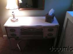 1960S FRENCH PROVINCIAL VINTAGE DRESSING VANITY MAKE UP TABLE/WRITING