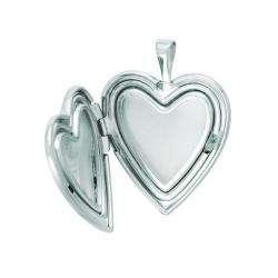 Sterling Silver Heart shaped My Best Friend Locket