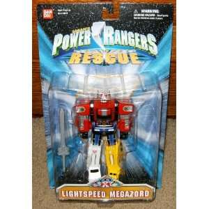 Lightspeed Megazord 6 Power Rangers Action Figure: Toys