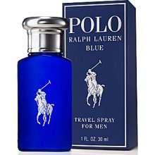POLO BLUE * Ralph Lauren Cologne 1.0 oz EDT Men Spray