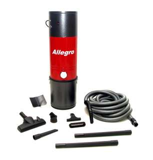 Allegro Central Vacuum System PACKAGE+3 Inlet Kit+Hose