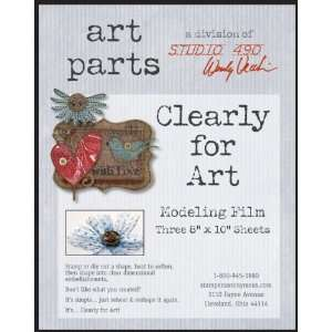 Wendy Vecchi Clearly For Art Modeling Film Sheets 3/Pkg