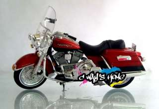 Maisto 118 Harley Davidson 1999 FLHR ROAD KING Diecast Motorcycle