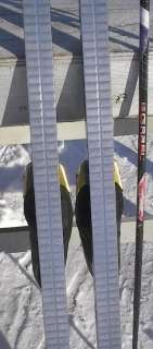 Cross Country 77 Skis 3 pin 200 cm +Poles + Boots Size 10