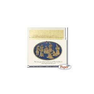 Century Collections   Foil Nativity   8 x 5 3/4   18 cards