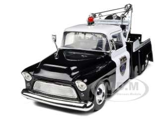 POLICE TOW TRUCK 1/24 DIECAST CAR MODEL BY JADA 801310963937