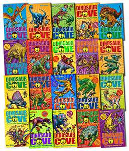 Dinosaur Cove Series Collection 20 Books Set 1 to 20 Pack Rex Stone
