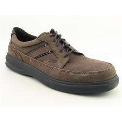 Hush Puppies Mens Boyd Dark Brown Wide Oxfords