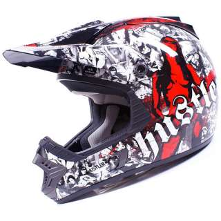 ROCKHARD HUSTLER LIMITED EDITION MX ENDURO MOTOCROSS CRASH HELMET