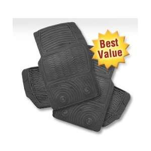 Auto Expressions Tite Grip Grey Rubber Universal Fit All Season Floor