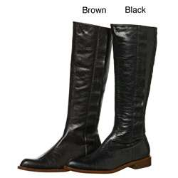 Gee WaWa Womens Brown River Riding Boots