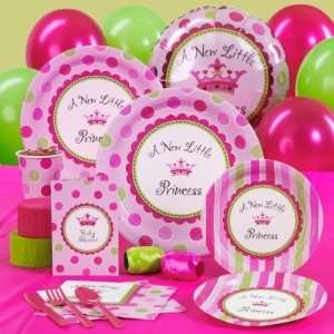 Little Princess Baby Shower Standard Party Pack for 8 Party Supplies
