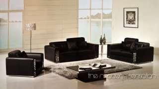leather sofa loveseat chair set burgundy or black Home Furniture