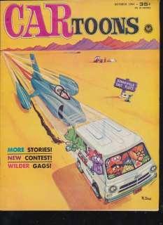 Toons #19  drag racing  Bonneville Salt Flats  Unk & Varmints