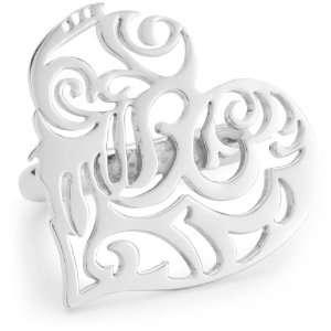 Gala by Daniela Swaebe Sacred Heart Silver Heart Ring