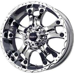 20 inch Ballistic Hostel chrome wheels rim 8x6.5 8 LUG