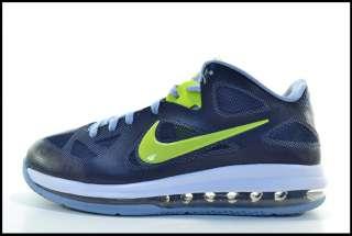 best authentic b774c 66995 510811 401  Nike Lebron 9 Low Obsidian Cyber White Blue Grey