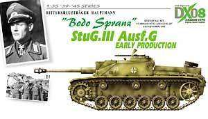 Stug.III Ausf.G Bodo Spranz Early Production, Dragon/DML Kit #6488!