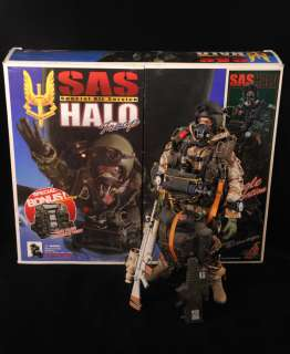HOT TOYS British SAS Special Air Service HALO Troop 1/6 Figure
