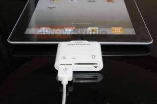 in 1 USB SD Card Reader Adapter Kit For iPad Camera Keyboard