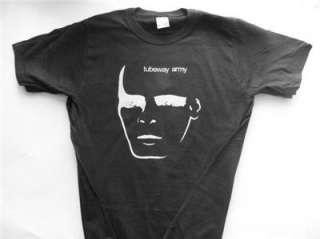 Gary Numan Tubeway Army T shirt black short sleeve