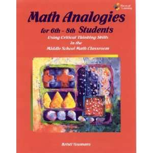 Math Analogies for 6th 8th Grade Students (9781934358887