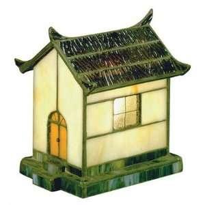 Lite Source LN 1636 Pagoda   One Light Tiffany Accent Lamp
