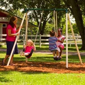 swing , flexible flyer , childrens outdoor play sets , swing set