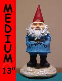 NEW Travelocity Gnome 13 Statue & Window Cling Decal