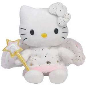 TY Classic ~ Hello Kitty Gold Angel 12 Tall ~ UK