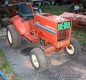 NICE GRAVELY 8123 RIDER WITH HYDRAULIC LIFT, DIRECT DRIV PTO, GOOD