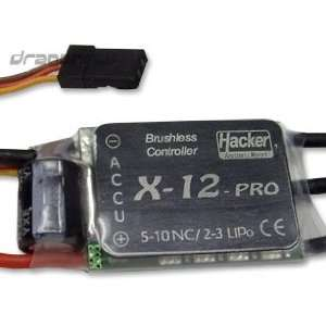12 Pro RC Brushless Motor Speed Controller ESC 12A Toys & Games